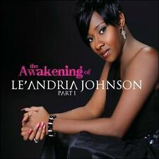 FREE US SHIP. on ANY 2 CDs! ~Used,VeryGood CD Johnson, Le'Andria: Awakening of L