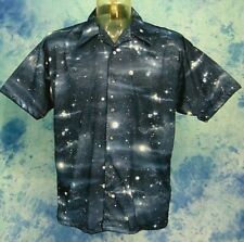 ViNtage 70s MonziNi Space Age Planet's Star's Solar System S/S Mob DiSco ShiRt M