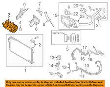 VOLVO OEM 12-13 XC60 3.2L-L6-A/C AC Compressor 36051067