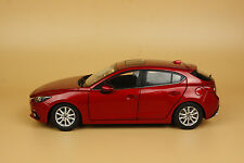 1:18 Mazda 3 AXELA 2014 Hatchback Die Cast Model red color + gift