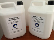 Heavy Duty Oven Cleaning Gel (caustic based) 2 x 5L