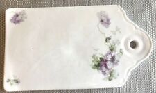 Antique Kuznetsov Cheese Cutting Board - Imperial Russia Kuznetsov Porcelain