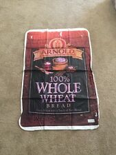 ARNOLD WHOLE WHEAT BREAD COMPANY LOGO ADVERTISING BLOW UP HANGING DISPLAY