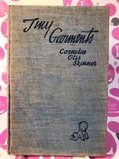 "Author signed, CORNELIA OTIS SKINNER ""TINY GARMENTS"" 1932 ~NEAR MINT!!!"