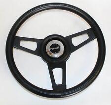 """68-69 Road Runner Barracuda Cuda Grant Black Steering Wheel 13 3/4"""" black spokes"""