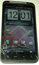 HTC ThunderBolt - Black (Verizon) Smartphone Cracked Glass Fully Functional