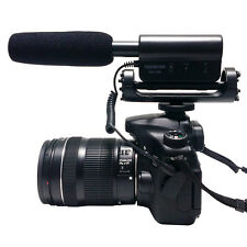 Profession Recording interview microphone For Canon Nikon DSLR Camera Camcorder