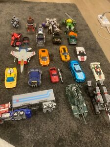 Transformers Optimus Prime Starscream Bumblebee  Megatron RC lot