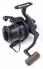 Wychwood Riot Big Pit Matt Black 75S Carp Fishing Distance Reel + Spare Spool