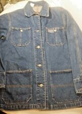 Vintage RALPH LAUREN JEANS CO. Denim Coat | Retro Jean Jacket 90s Size Small