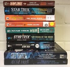 Star Trek Lot 9 Books - The Next generation New Frontier The Lost Era First Cont
