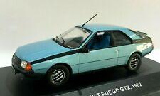 Giugno 2018 Miniatura Renault Fuego GTX -1982 Blu 1/43 Solido
