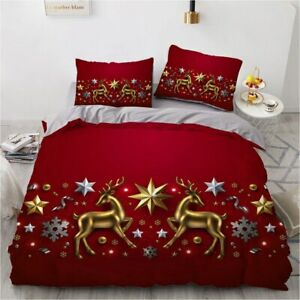 Bed Linen Duvet cover set Bedding sets Comforter cover Pillow case Christmas