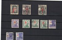 spain  vintage anti tuburculosis  stamps ref r9290