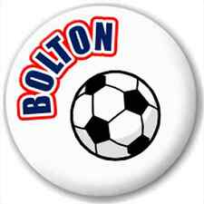 Bolton Fc Supporters Football 25Mm Pin Button Badge Lapel Pin