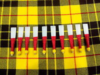 Practice Chanter Reeds Set of 10 Pcs High Quality/Synthetic Practice Soft Reeds