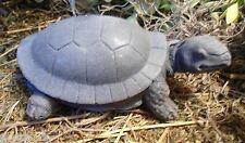 Latex w plastic backup turtle mold plaster concrete mould