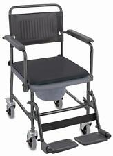 Toilettenstuhl von Aquatec / Invacare H720T Rollstuhl Toilettenrollstuhl