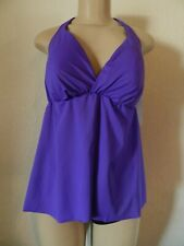 Catalina Women's Swimsuit Top Halter Grape Jelly Size 36/38C New with Tags