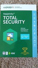 Brand new Kaspersky TOTAL Security  2016 3 Devices 1 Year