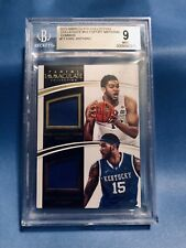 2015/16 IMMACULATE KARL-ANTHONY TOWNS/ CAULEY-STEIN RC -MIN DAL Kentucky-UK POP1