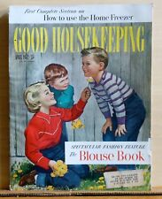 Good Housekeeping magazine - April 1952 - Blouse Book Fashion Feature