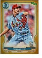 Miles Mikolas 2020 Topps Gypsy Queen 5x7 Gold #184 /10 Cardinals