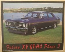 Falcon XY GT-HO Phase 3 In Purple poster