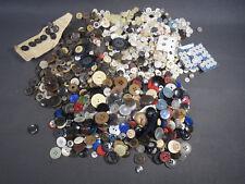 Lot anciens boutons de couturière vintage mercerie scrapbooking