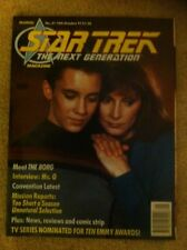 Star Trek The Next Generation (1990 Marvel) Uk Fortnightly Magazine 21 VGC