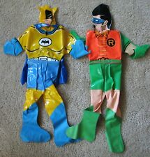 Vintage Batman Robin Inflatable Figures China Japan DC Comics West Ward