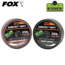 Tresse Fox Edges Coretex Matt weedy green 35lbs 20m