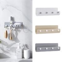 Key Rack Holder Wall Mount Key Organizer 4 Hooks Hanger Keychain Home Storage/