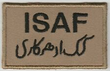ISAF. AFGHANISTAN. Forces patch DESERT 'N' VLCRO