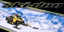 Ski Doo Rotax XRS 850 Polaris Arctic Cat Yamaha Snowmobile Sled Vinyl Banner