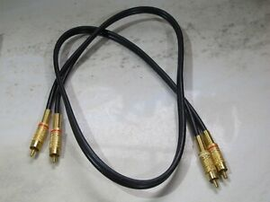 Cinch Kable, Audio Kabel,, RCA Name unbekannt  1,00 Meter