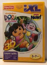 Fisher-Price iXl Learning System Software Dora the Explorer 3D New