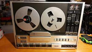 Philips N4418 - Stereo Recorder - Hifi Tonbandgerät - Top Zustand + Bänder