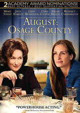 August Osage County - Julia Roberts. Meryl Streep (DVD, 2014) Rated R Color WS