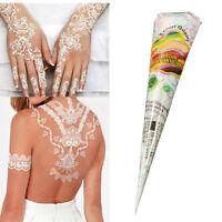 Golecha Henna Paste Kegel Weiß 125g Klinisch getestet Mehndi Tattoo Indien S7Z2