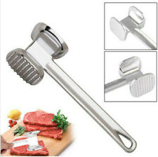 Meat Hammer Stainless Steel Tenderizer Mallet Pounder Tool Poultry Chicken 1 Pc