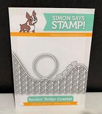Simon Says Stamp ROCKIN ROLLER COASTER Rollercoaster Amusement Park Die Rare
