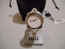 "Montre Femme Dolce & Gabbana D&G Ladies Watch "" Lisbon "" DW0838 , Cuir blanc TBE"