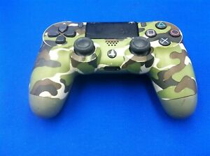 Sony PlayStation Dualshock 4 Wireless Controller CUH-ZCT2E, Camo Green, Used
