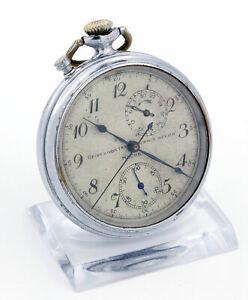Rare  Kirowa TYP 1 Genaue Zeit Moskau - Chronograph Schaltrad Watch CCCP ca.1930
