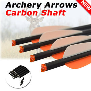 6x 16-22inch Archery Crossbow Carbon Arrows Bolts Target Hunting Shooting US