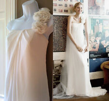 Wedding Dress by Galina Davids Bridal WG9888 Sz 14 Ivory