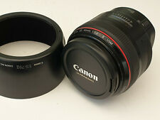 Canon EF 85mm F/1.2 L II USM Lens Excellent Condition