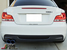 Carbon Fiber Rear Bumper Diffuser For BMW E82 E88 M-Sport 128i 135i Coupe 08-13