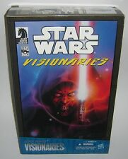 Star Wars Visionaries Comic Pack Darth Maul Cyborg & Owen Lars 2010 Comic Con